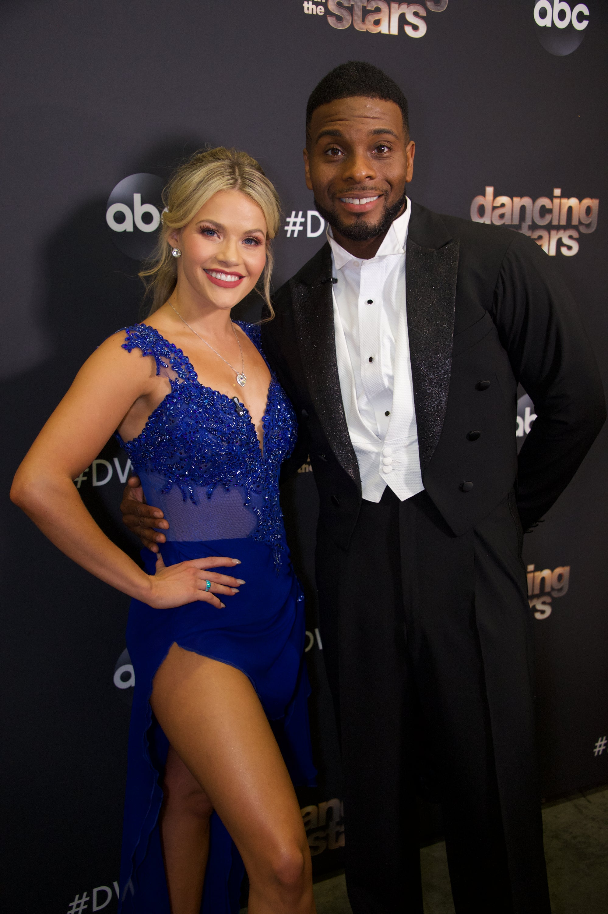 'DWTS': Witney Carson Tears Up After Judge Len Goodman Docks a Point for Her Mistake