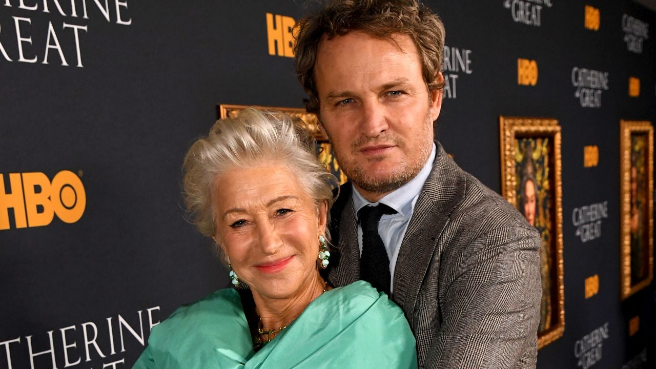 Helen Mirren and Jason Clarke Open Up About Steamy Sex Scenes in 'Catherine the Great' (Exclusive)