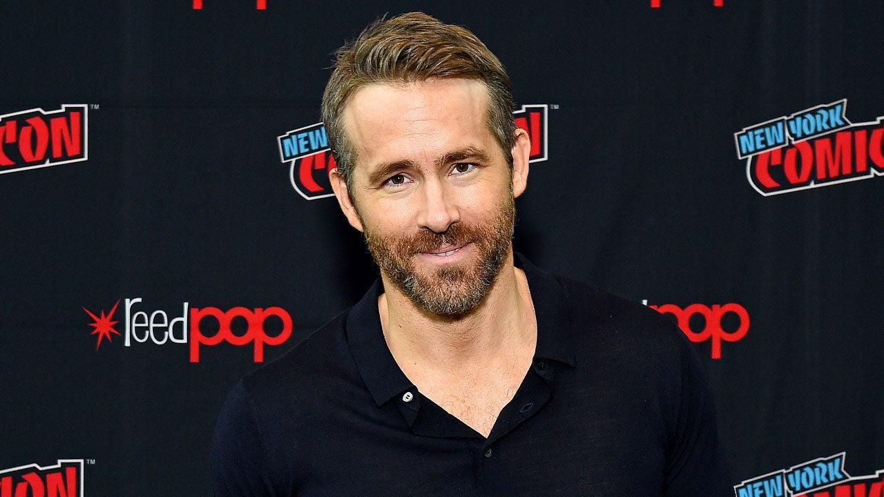 Ryan Reynolds at nycc 2019