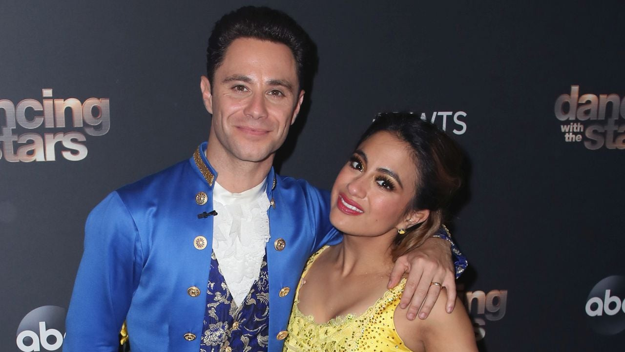 'DWTS:' Ally Brooke and Sasha Farber React to Topping the Disney Night Leaderboard (Exclusive)