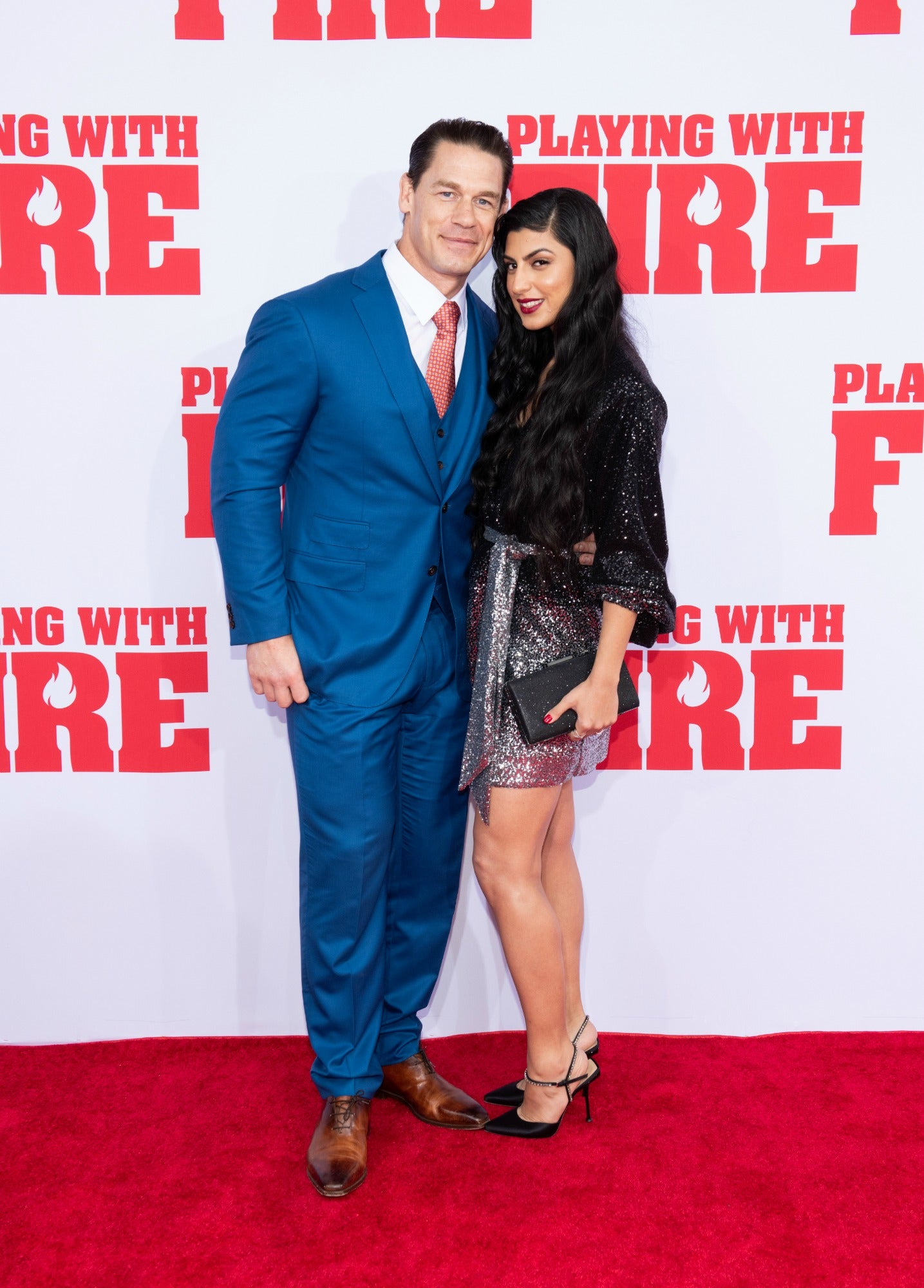 John Cena Calls Date Shay Shariatzadeh 'Beautiful' as They Make Red Carpet Debut as Couple (Exclusive)