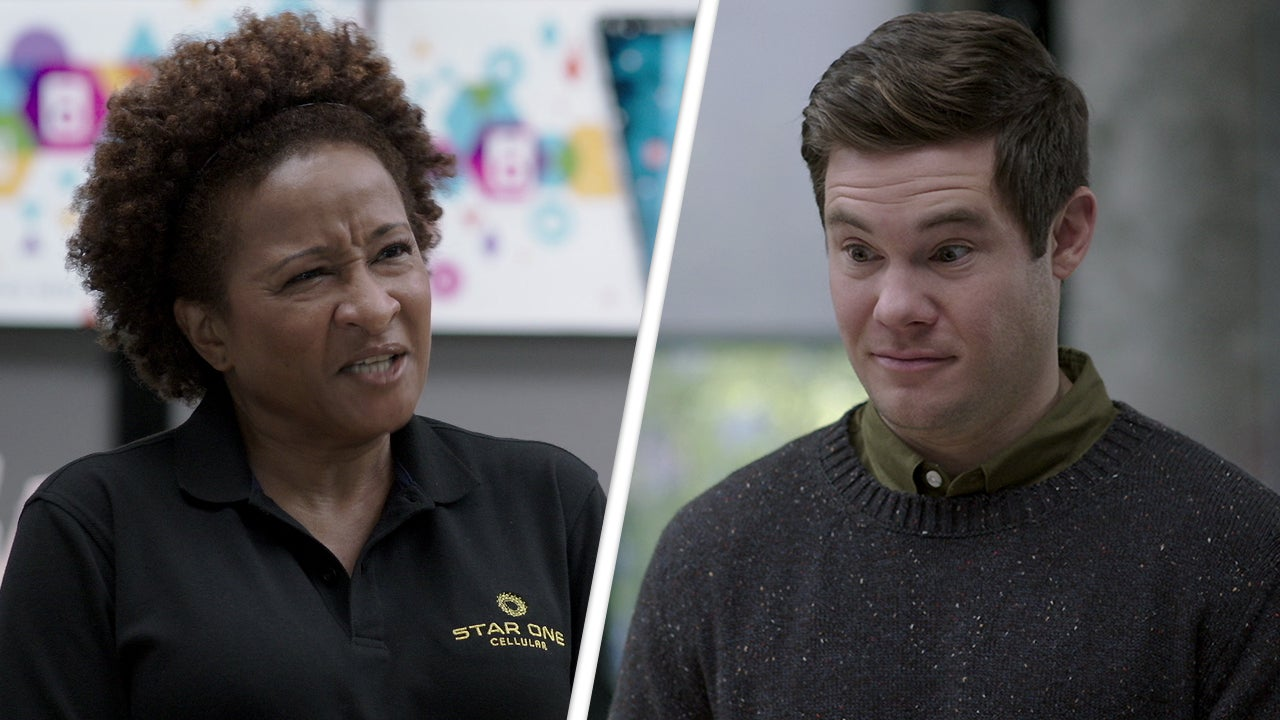 Wanda Sykes Accuses Adam Devine of Being a Cellphone 'Crackhead' in Exclusive 'Jexi' Clip