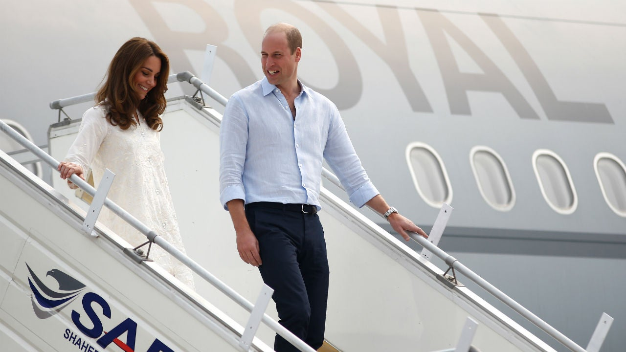 Kate Middleton and Prince William's Flight Is Rerouted After Storm: Details From Inside the Plane