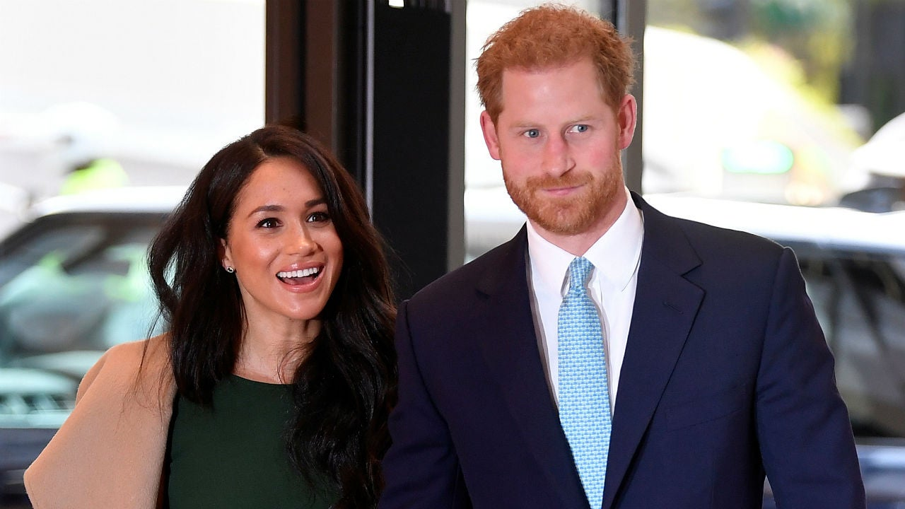 Prince Harry and Meghan Markle together