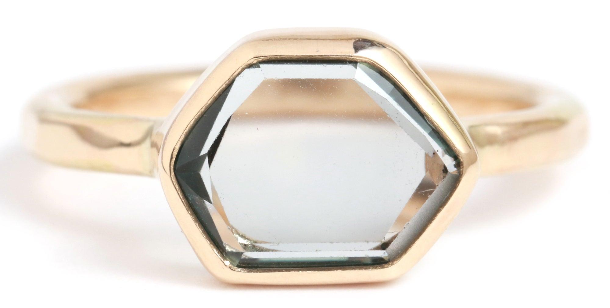 Melissa Joy Manning Transparent Montana Sapphire Ring