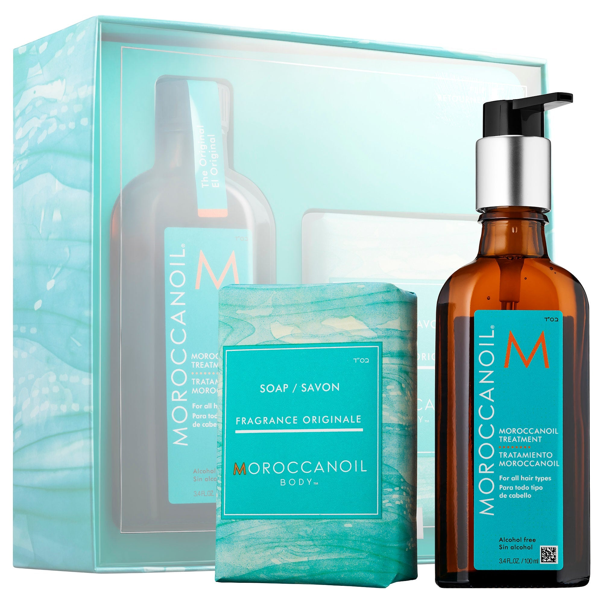 Moroccanoil Treatment & Body Soap