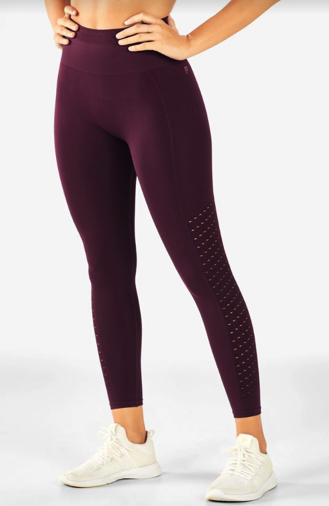 Fabletics Sync High Waisted Perforated Leggings
