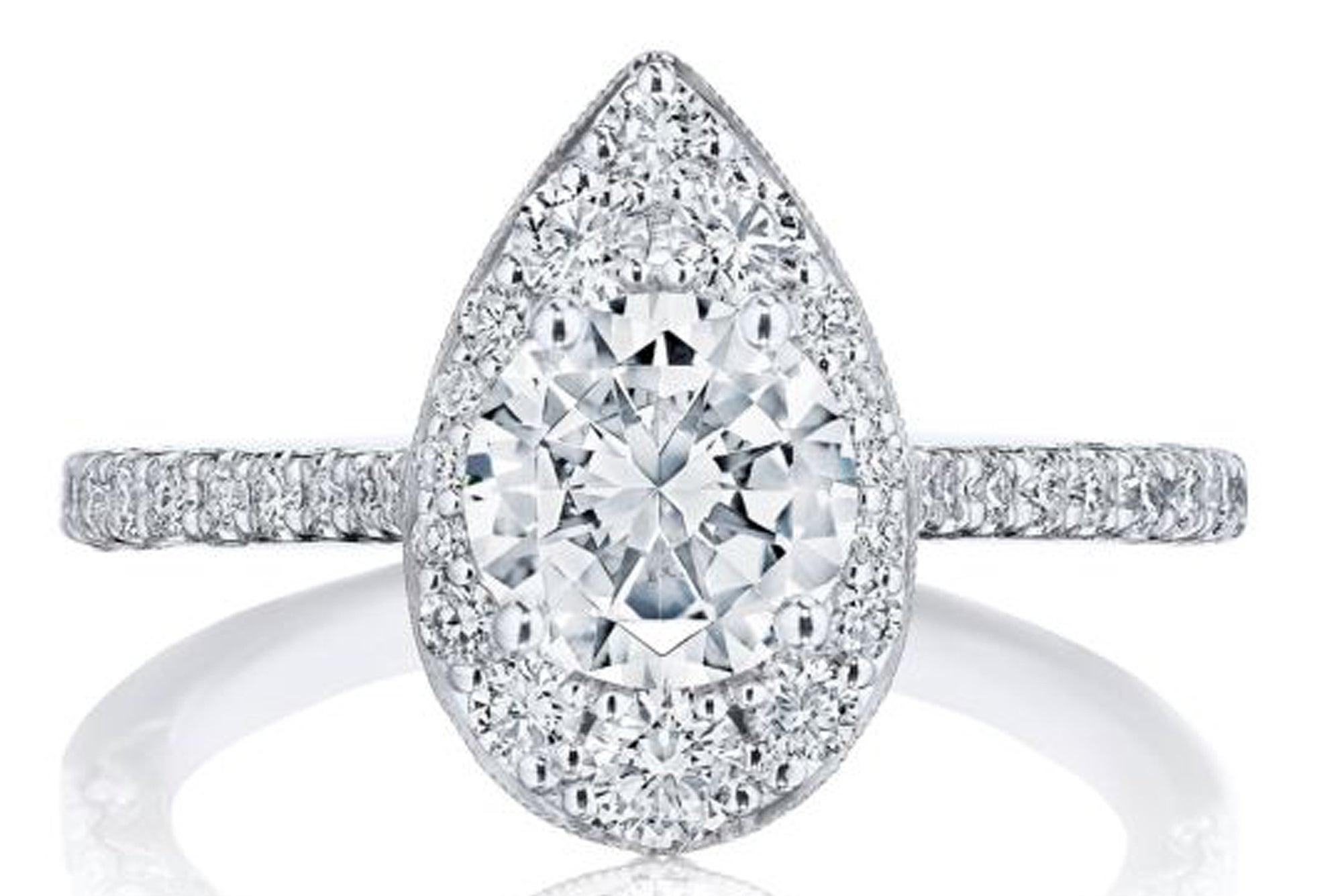 Tacori Inflori Engagement Ring