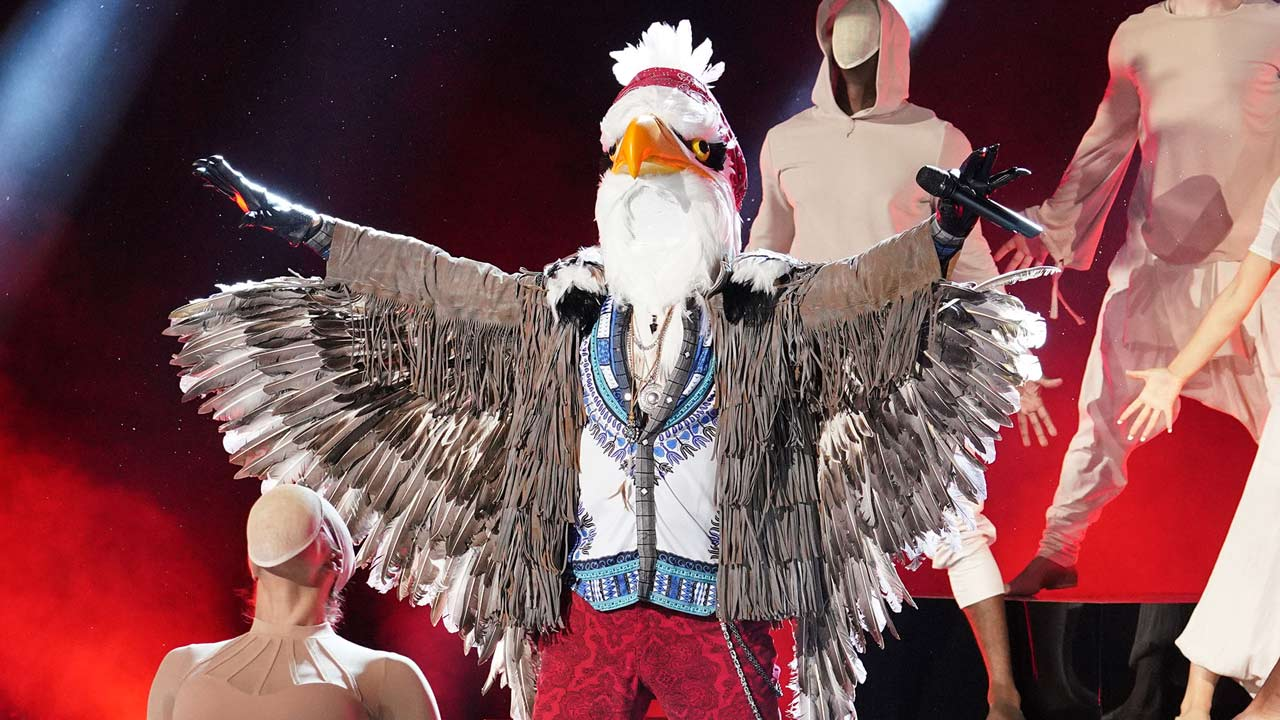 'The Masked Singer': The Eagle Sent Soaring Home After Exciting Week 3 -- See Who Was Under the Mask!