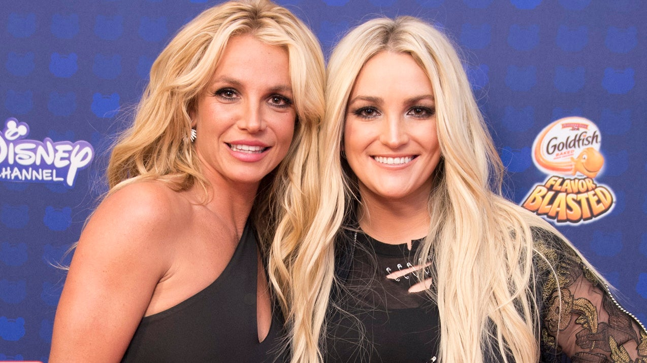 Britney Spears Bonds With Nieces In New Post From Sister Jamie Lynn Entertainment Tonight