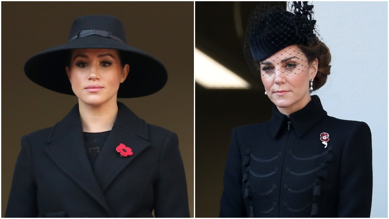 Why Meghan Markle & Kate Middleton Were on Separate Balconies During Festival of Remembrance (Exclusive)