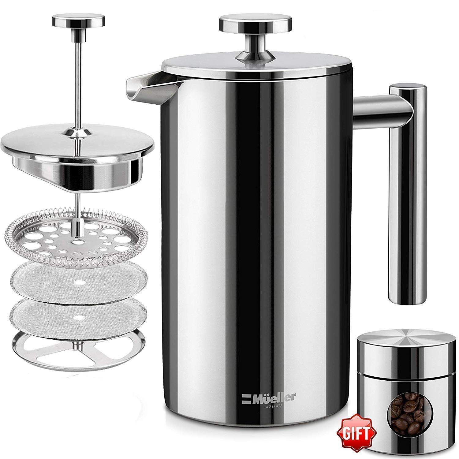 Mueller French Press Coffee Maker