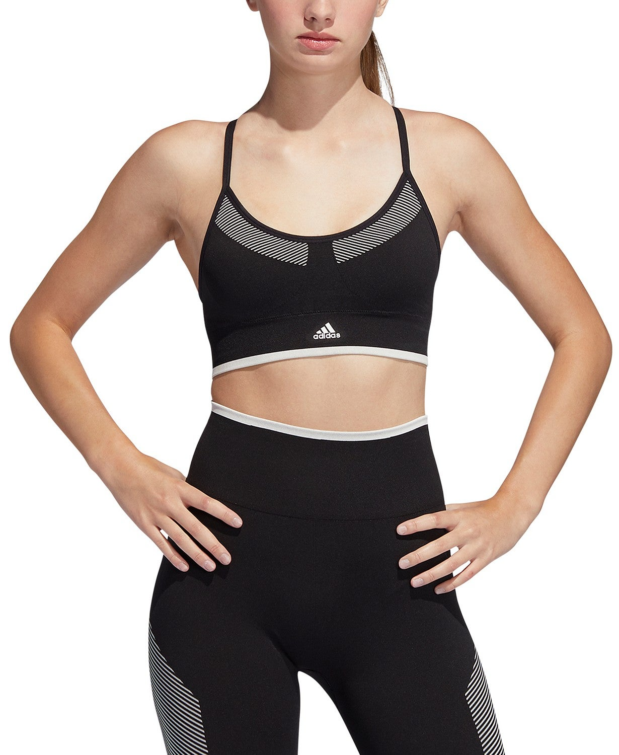 Adidas PrimeKnit Sporta Bra and Leggings Set