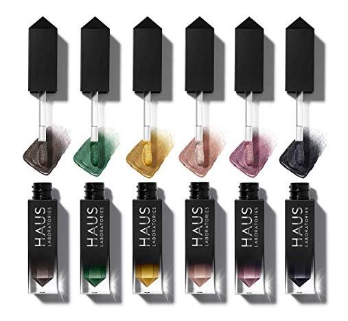 Celebrity Beauty: Haus Laboratories Glam Attack Liquid Shimmer Powder Liquid Eyeshadow