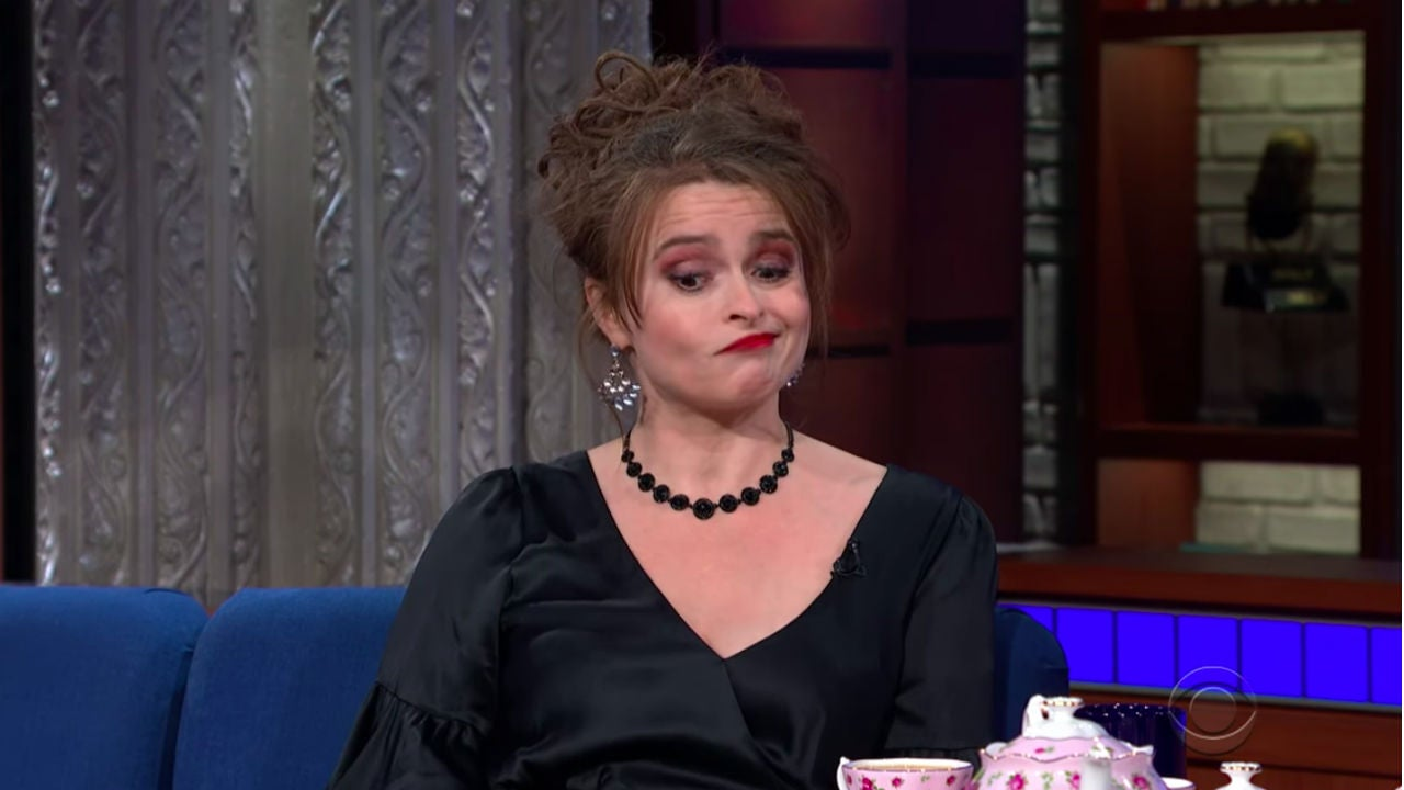 Helena Bonham Carter Gets Ruthless Spilling the Tea About Co-Stars Brad Pitt, Rihanna and More