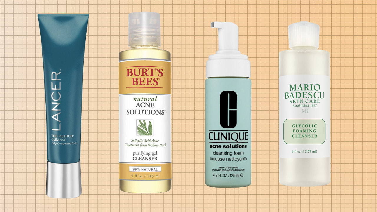 The Best Face Wash For Acne From Clinique Burt S Bees Lancer