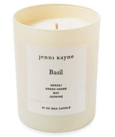 Celebrity Beauty: Jenni Kayne Basil Glass Candle