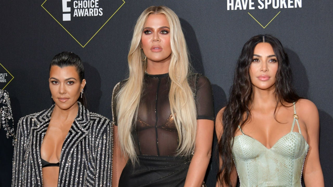Khloe Kardashian Finds Herself in the Middle of Kim and Kourtney's Feud