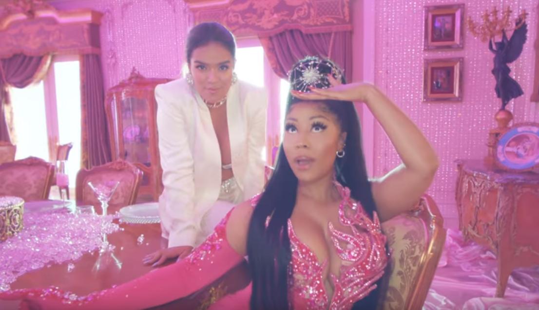 Nicki Minaj Sings in Spanish in New Single 'Tusa' With Karol G -- Watch!