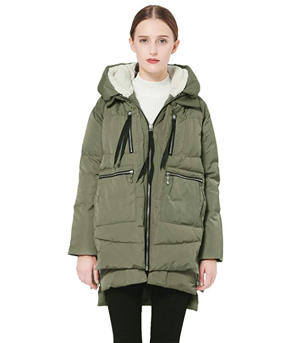 Celebrity Beauty: Orolay Thickened Down Jacket