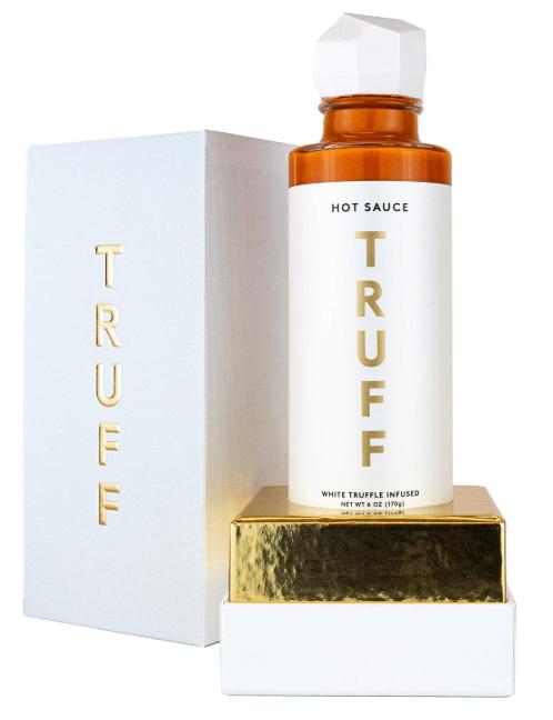 Celebrity Beauty: TRUFF White Truffle Infused Hot Sauce