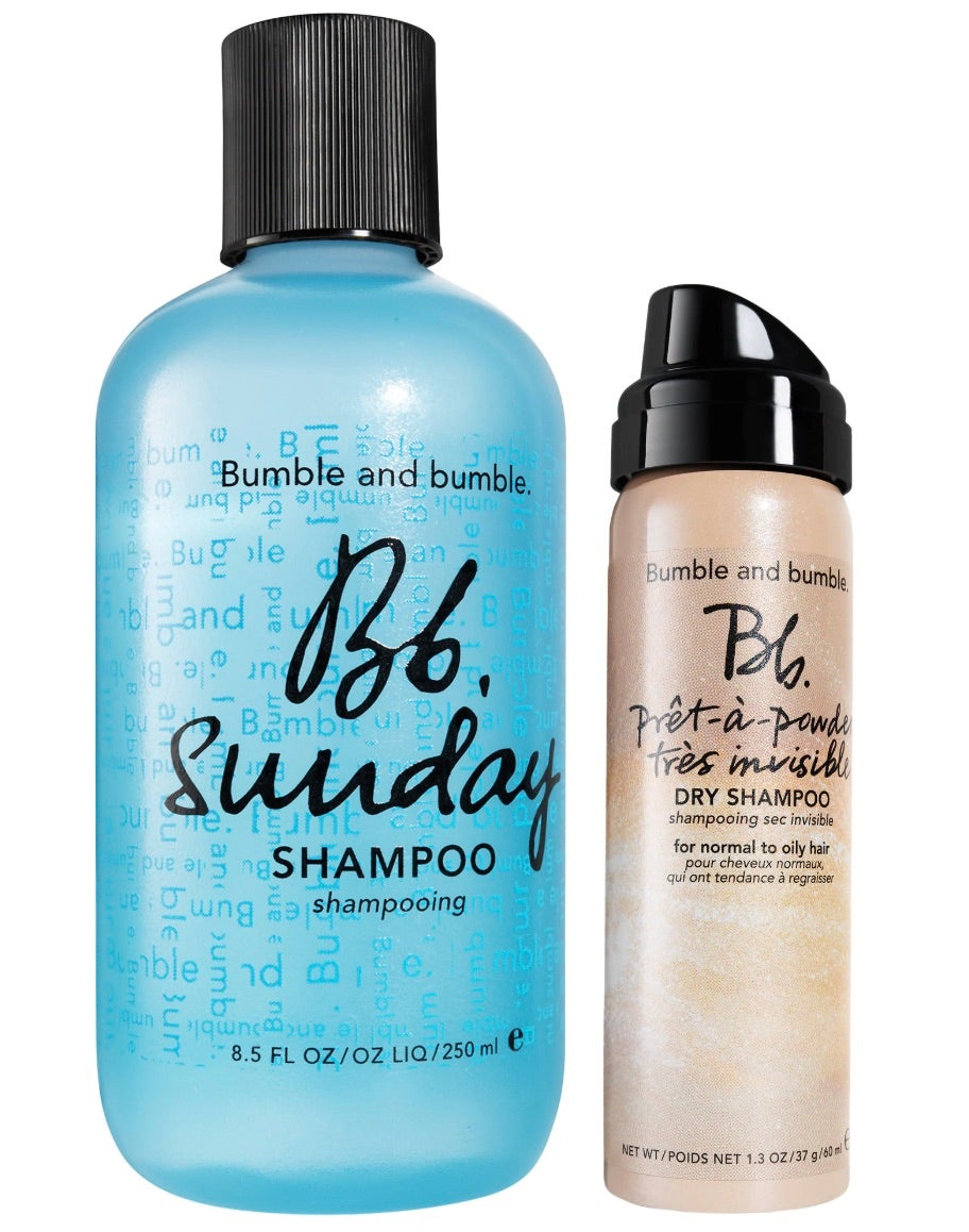 Bumble and Bumble Refresh + Restart Sunday Shampoo Value Set