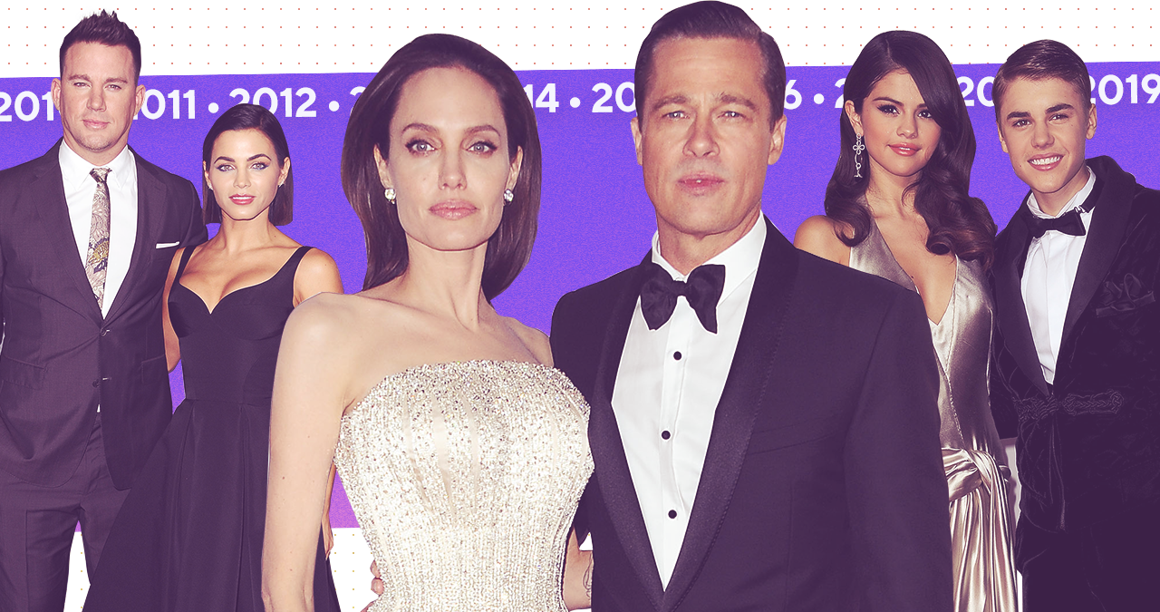 The 13 Most Heartbreaking Splits of the Decade, From Jennifer Garner and Ben Affleck to Brangelina