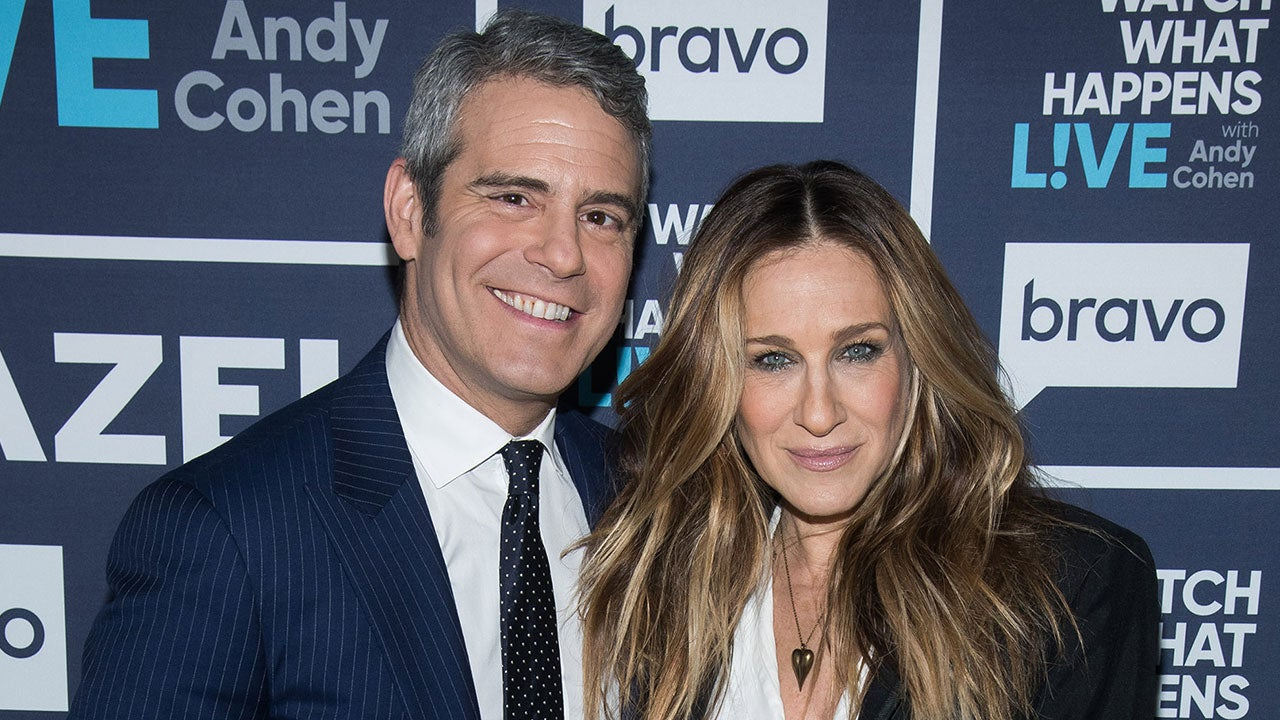 Sarah Jessica Parker Shares Throwback Pics of Andy Cohen on 'Sex and the City'