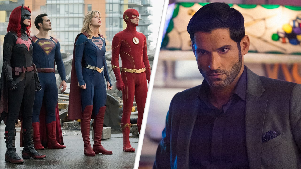 'Crisis on Infinite Earths': 'Lucifer' Star Tom Ellis Breaks Down His Surprise Cameo (Exclusive)