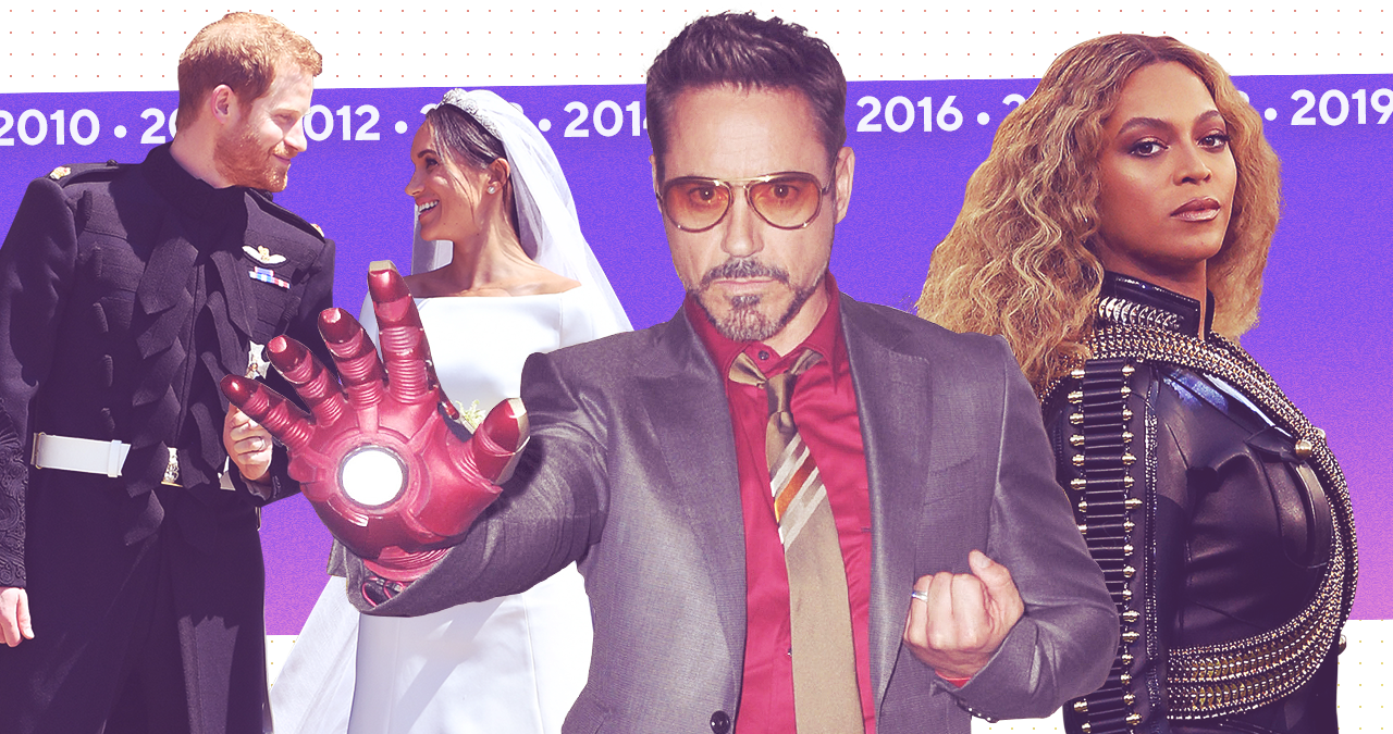 Decade In Review: Best Love Stories, Epic Feuds, Pop Culture Moments of the 2010s