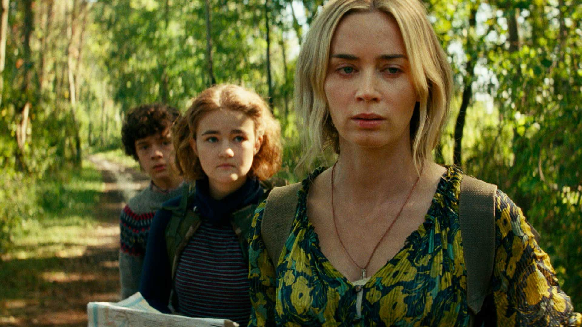 A Quiet Place Part II' Trailer Jumps Back in Time as Emily Blunt Fights to Keep Her Family Alive   Entertainment Tonight