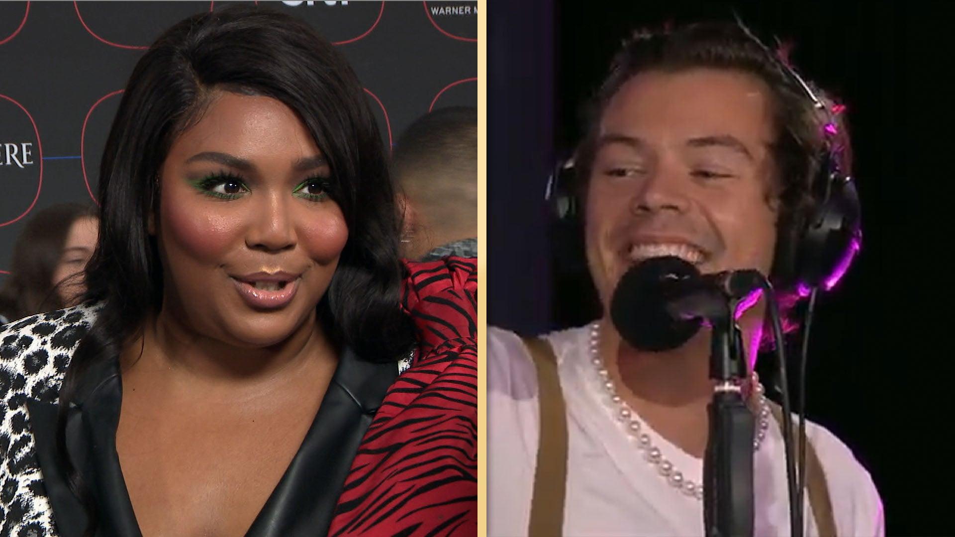 Harry Styles Covers Lizzo's 'Juice' on BBC Radio and it's AMAZING!