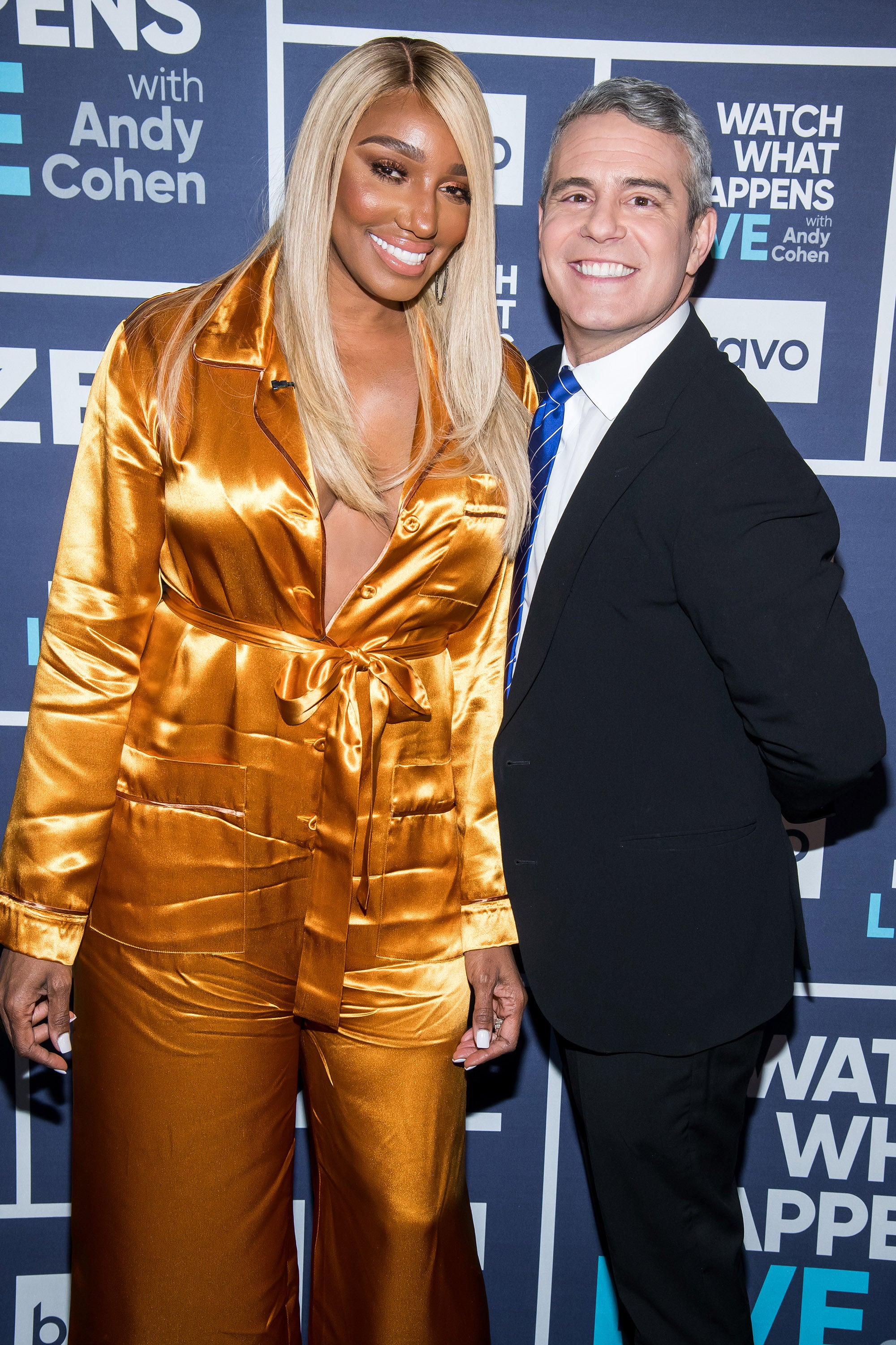 NeNe Leakes Calls Out Andy Cohen for Comment on Her Dress