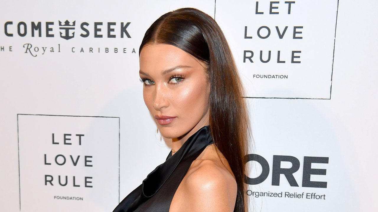 Bella Hadid Shows Some Serious Skin in Racy Selfie