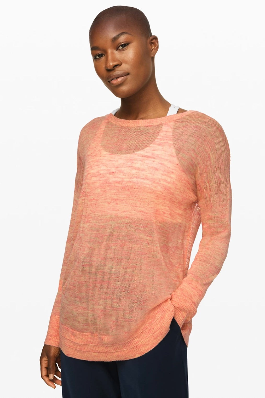 Lululemon Well Being Crew Sweater Linen