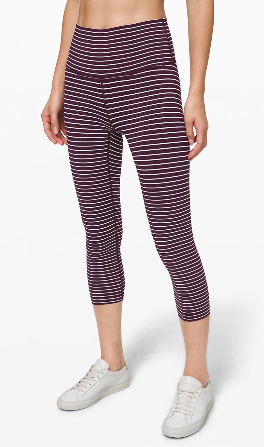 Lululemon Wunder Under Crop (High-Rise) Luxtreme 21""
