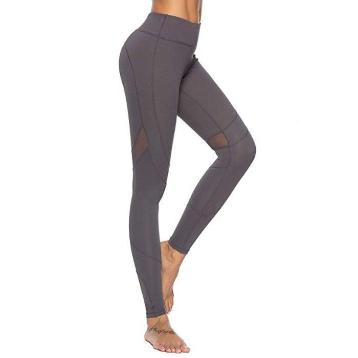 Mint Lilac High Waist Workout Yoga Leggings