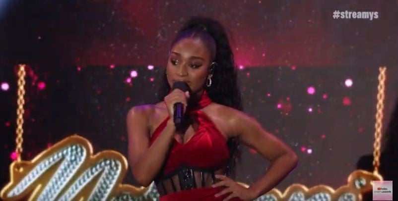 Normani Delivers Red Hot 'Motivation' Performance at 2019 Streamy Awards