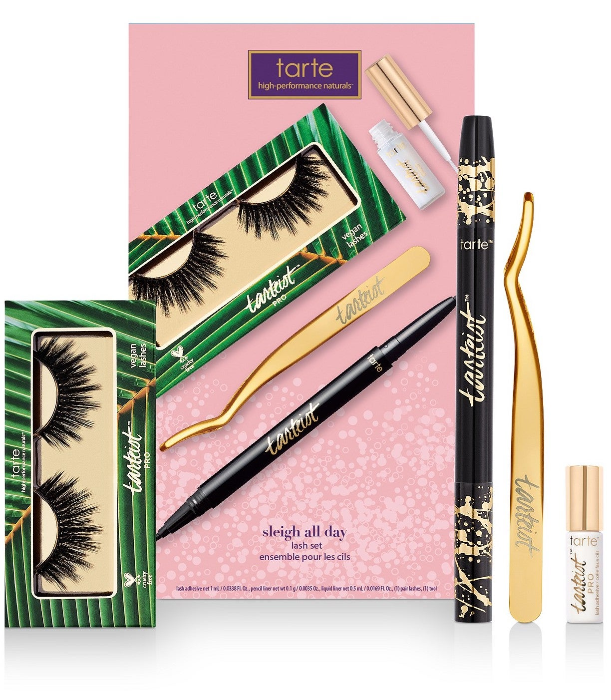 Tarte 4-Piece Sleigh All Day Lash Set