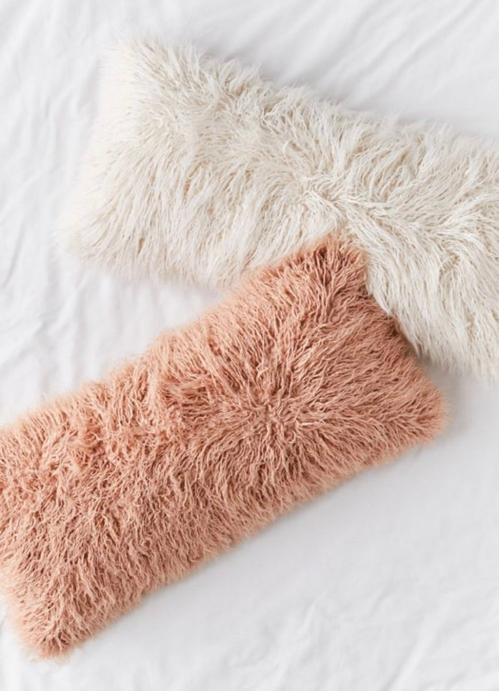 Urban Outfitters Mila Faux Fur Body Pillow