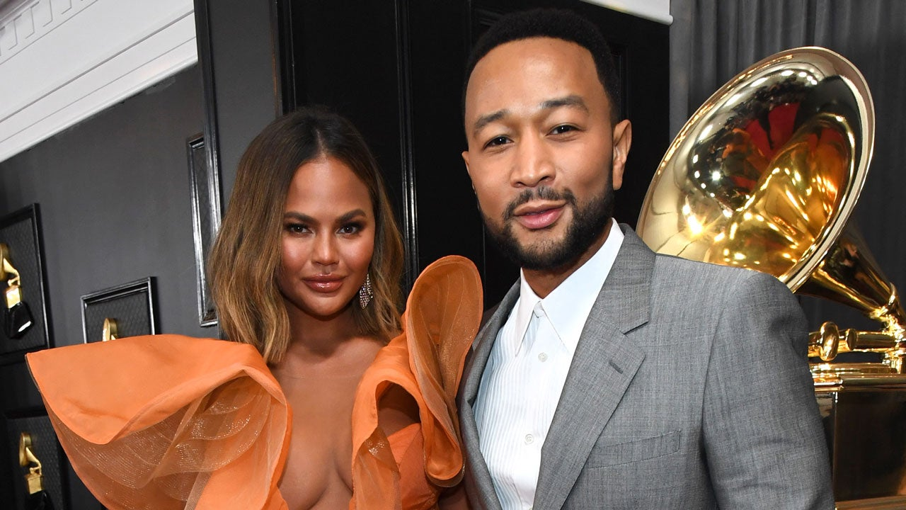 Chrissy Teigen and John Legend Are Simply Divine at 2020 GRAMMYs
