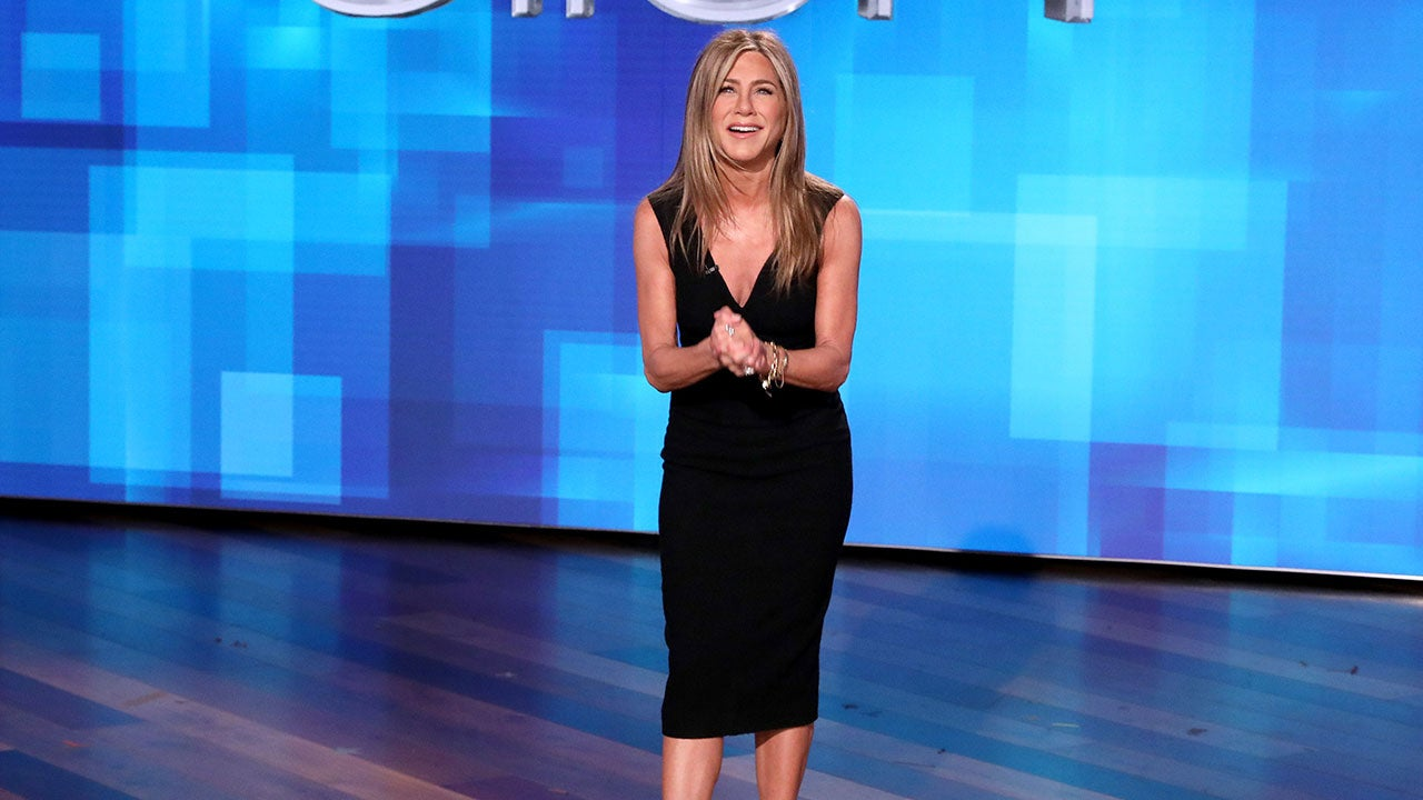 Jennifer Aniston Answers 'Burning Questions,' Including Her First Kiss and First Celebrity Crush