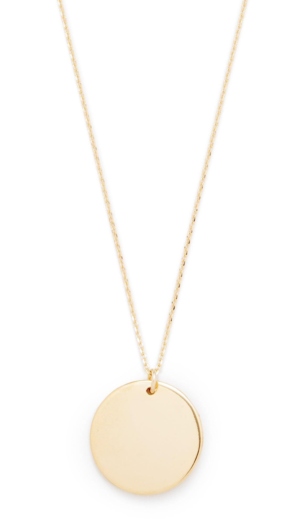 Cloverpost Circle Medallion Necklace