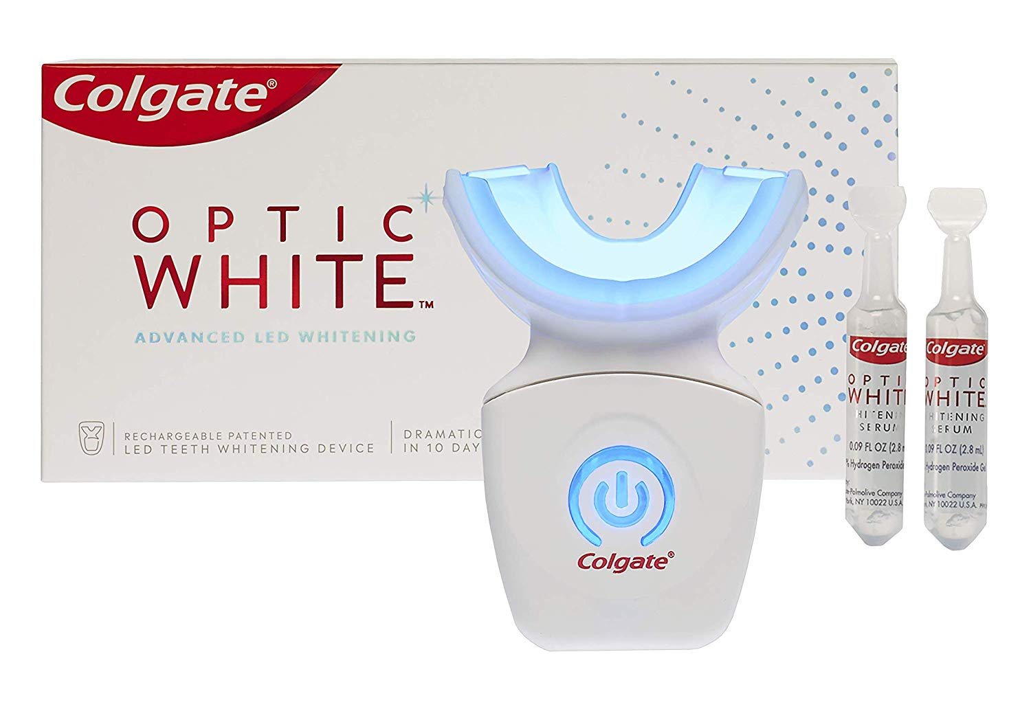 Colgate Optic White Advanced LED Whitening