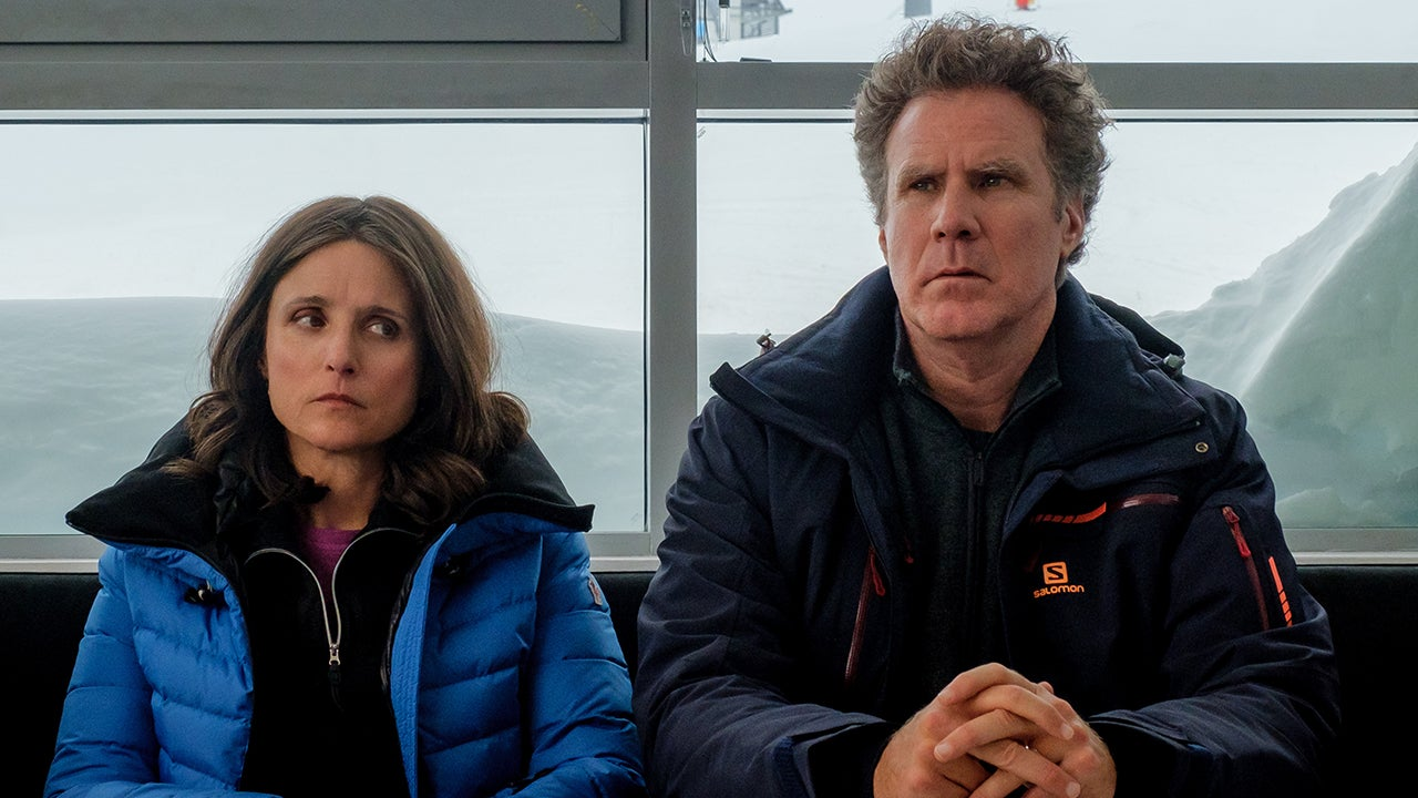 Julia Louis-Dreyfus and Will Ferrell Hit the Slopes in These Exclusive 'Downhill' Photos