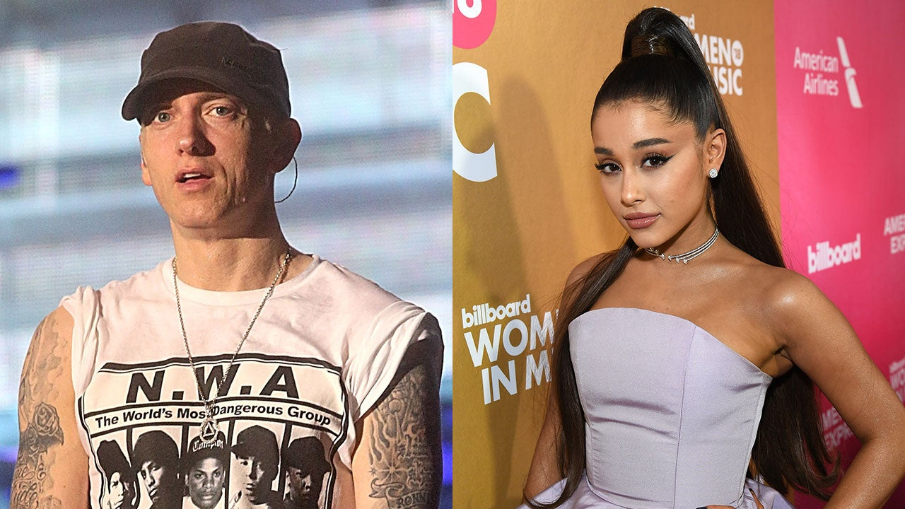 Eminem Slammed for Lyric About Ariana Grande and the Manchester Bombing