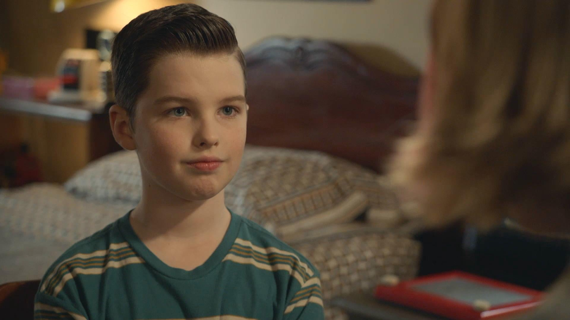 'Young Sheldon': Sheldon Offers His First Hot Beverage Sweet Scene (Exclusive)