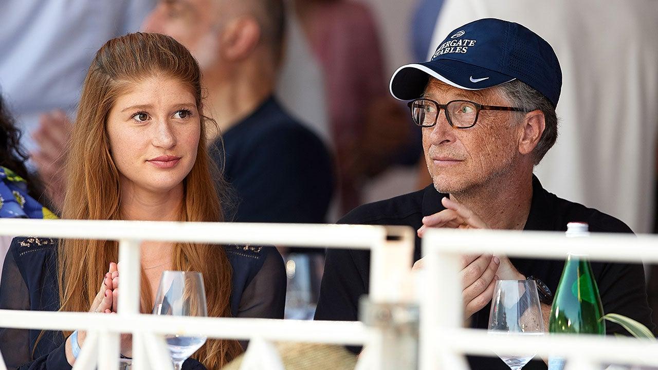 Jennifer Gates and Bill Gates