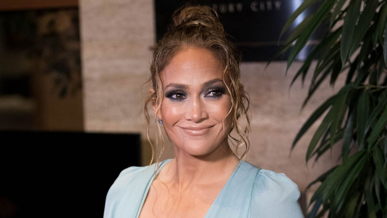 Jennifer Lopez at the 2020 Los Angeles Critics Association (LAFCA) Awards Ceremony