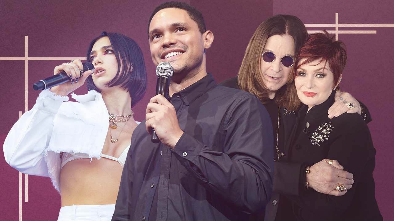 GRAMMYs 2020: Ozzy and Sharon Osbourne, Dua Lipa and More to Present